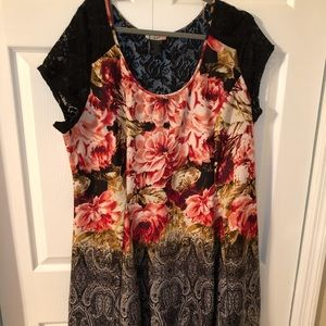*Sale* Love Squared floral and lace dress